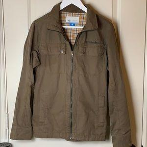 EUC Columbia Khaki Lightweight Jacket